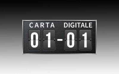 Carta vs digitalizzazione: splendido pareggio