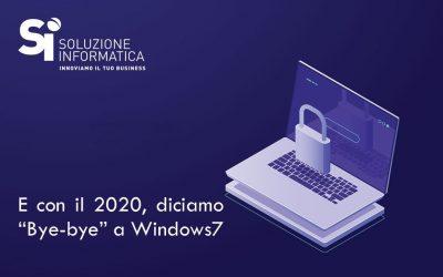 Il 14 Gennaio termina il supporto per Windows 7