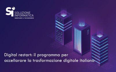 """""""Ambizione Italia"""" per la trasformazione digitale"""