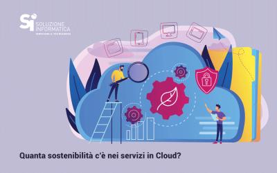 Cloud e Datacenter sostenibili entro il 2030