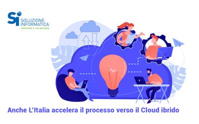 Cloud in Italia: cresce il modello ibrido
