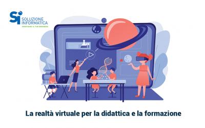 VR e didattica per essere dovunque tu voglia