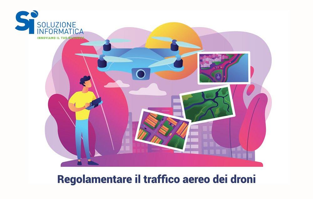 progetto aura per regolamentare droni